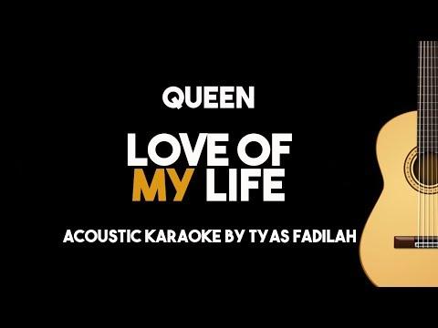 Queen – Love Of My Life (Acoustic Guitar Karaoke Version)