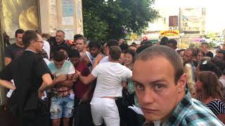 Беженцы штурмуют гос.здание Израиля