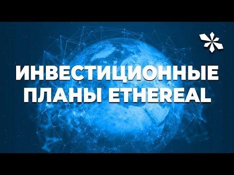 Инвестиционные планы EtheReal Global
