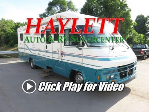 HaylettRV.com - 1996 Holiday Rambler Vacationer SE Used Class A Gas Motor Home