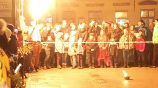 Krosno Światełko Do Nieba 2016 WOŚP - Fire Show
