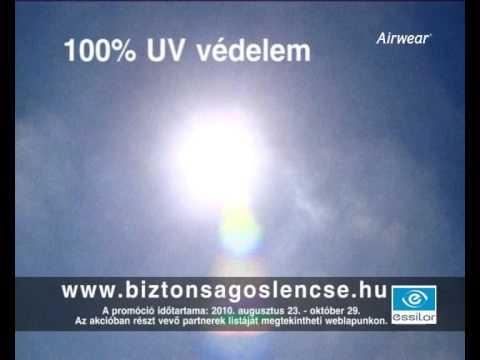 Essilor Airwear - a BIZTONSÁGOS szemüveglencse