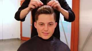 Mens Haircut Tutorial | 1920s Inspired Haircut & 3-in-1 Hairstyle Out (Full Length)