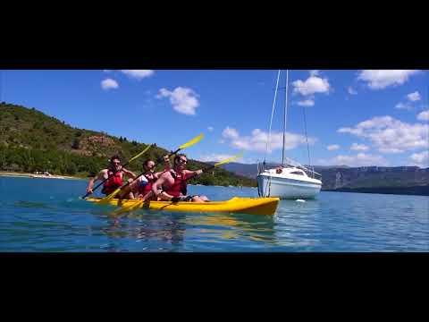 Sainte Croix du Verdon : activités nautiques et farniente en Haute Provence