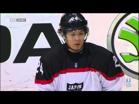 IIHF Eishockey Division 1 Austria vs Japan