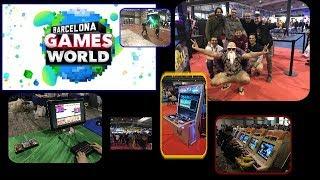 Un Dia En La Barcelona Games World 2018 - BGW 2018