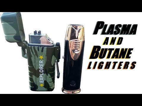 KCASA Plasma & IPRee Butane Lighter Comparison