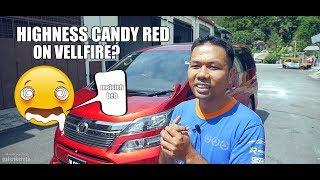 Candy Red Vellfire Modellista - Terliur beb candy dier