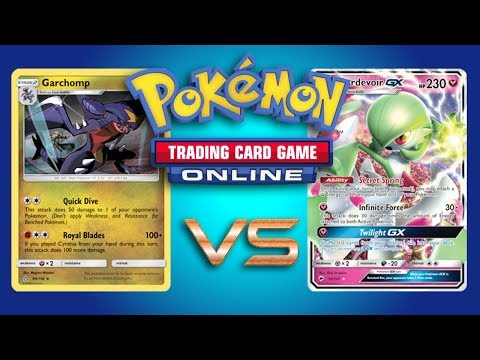 Garchomp / Lucario VS Random Decks w/ Riley Hulbert – Pokemon TCG Online Gameplay