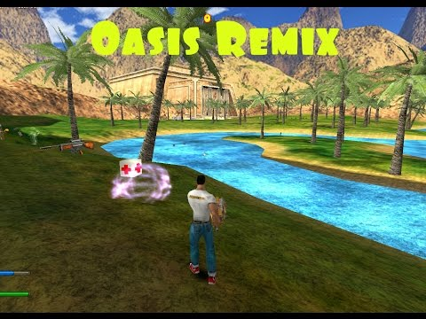 OasisRemix - DM Map (Serious Sam: Revolution)