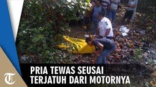 Pengendara Motor Sport Tewas Terseret Sejauh 50 Meter seusai Terjatuh dari Motor