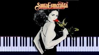 Santa Esmeralda - You Re My Everything Piano Tutorial