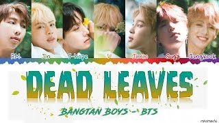 Download lagu Bts Dead Leaves Color Coded Han Rom Eng Mp3