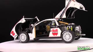 Kyosho Lancia 037 #16 Team Club Grifone Wurth Rally Costa Smeralda