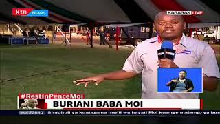 Maandalizi ya mazishi ya mwenda zake rais mstaafu Moi yashika kasi nyumbani kwake Kabarak