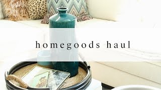 HomeGoods Haul | What To Buy At HomeGoods, Plus Decor Tips