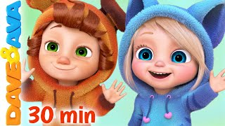 🎯 Finger Family + More Nursery Rhymes & Baby Songs | Dave and Ava 🎯