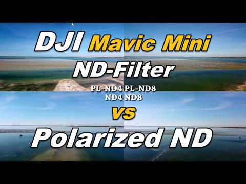 DJI Mavic Mini ND Filter vs Polarized ND Filters Comparison