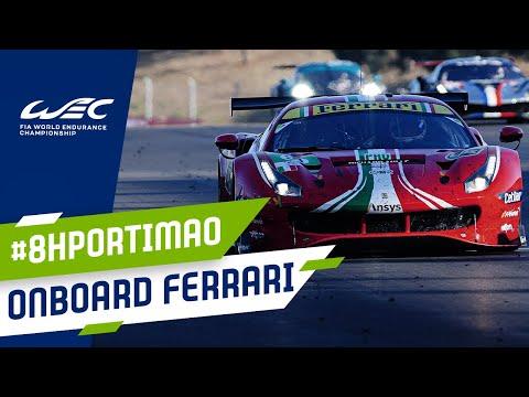 WEC 2021 第2戦ポルティマオ8時間 フェラーリ488GTのオンボード映像