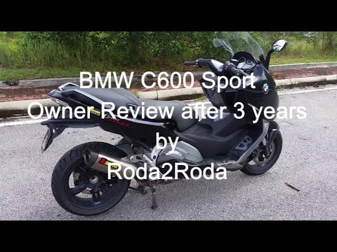 BMW C600 Sport Owner Review Three Years On