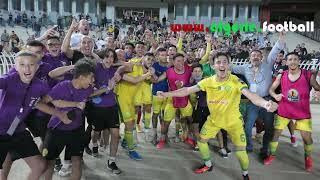 JSKabylie – Coton Sport : la joie des joueurs de la JSK après la qualification en finale