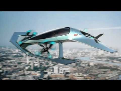 Aston Martin Stunning Future Luxury Flying Car  - A Real James Bond Car