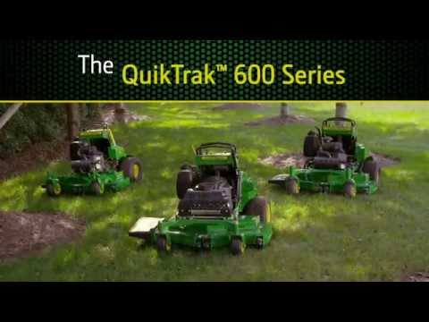 2020 John Deere 636M 36 in. QuikTrak Stand-On 18.5 hp in Terre Haute, Indiana - Video 1