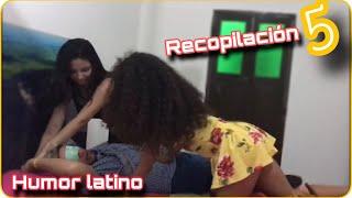 RECOPILACIÓN 5 - HUMOR LATINO 2019 | ABRAHAM MORENO | TRATA DE NO REÍRTE 😂
