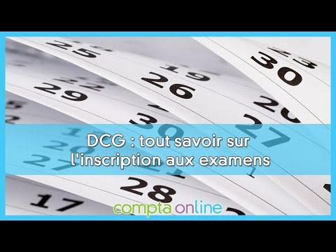 S'inscrire au DCG pour la session 2021