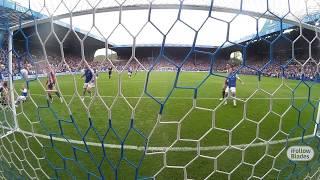 GoalCam: Mark Duffy stops them bouncing