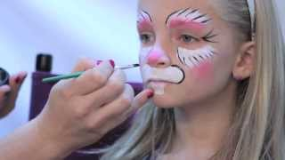 How To Facepaint a Bunny in 3 Easy Steps - Rubie's Makeup Tutorial