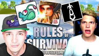 """NEW BATTLE ROYALE GAME """"RULES of SURVIVAL"""" (Nickatnyte & Eclihpse)"""