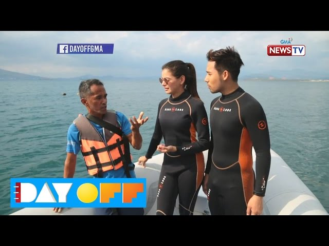 Day Off: Coral reef diving with Janine Gutierrez and Ken Chan