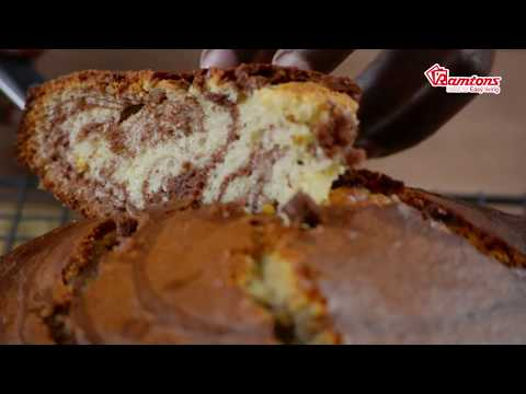 How to make Chocolate and Orange Zebra Cake