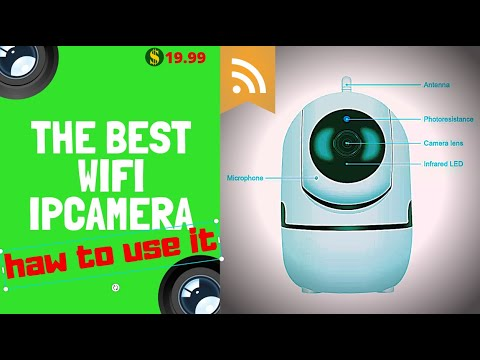 CES NEWS\' 1080P Wireless WIFI IR Cut Security IP Camera Night Vision  REVIEW IPC360 APP