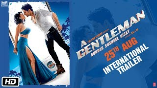A GENTLEMAN - Sundar, Susheel, Risky | International Trailer