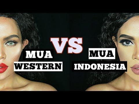 MUA INDONESIA VS MUA WESTERN   Apa aja perbedaannya?