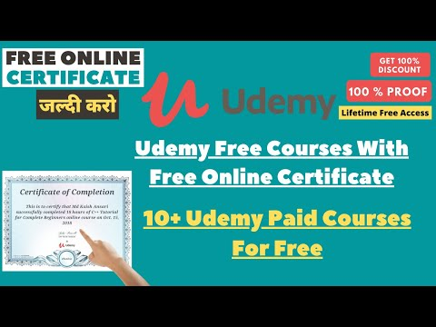 Get Free Certificate of Completion   Get Best Online Courses For ...
