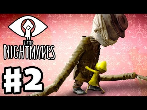 Little Nightmares Walkthrough - Part 2 - The Lair with the Janitor