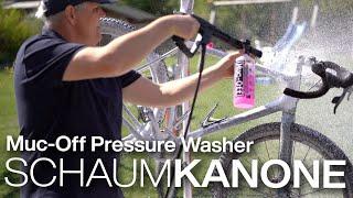Muc-Off Pressure Washer Fahrrad-Hochdruckreiniger Radreiniung mit Schaum & Niedrigdruck