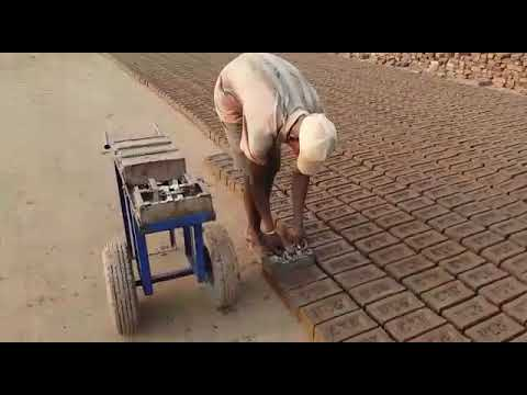 Diesel Engine MINI Brick Making Machine