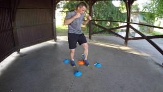 #TUTO du BSD : Les déplacements en  Boxe avec un Ballon de basket