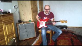 Abigail Ybarra Fat '50 Handwoud  Pickups In My 1972' Fender Stratocaster
