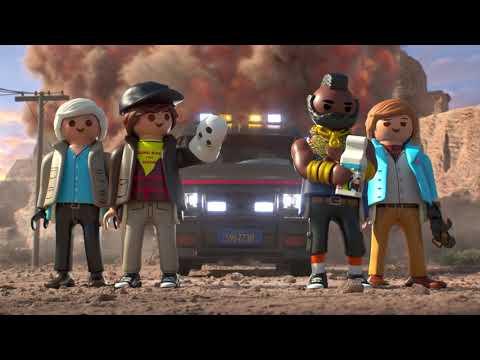 Vidéo PLAYMOBIL Agence Tous Risques 70750 : Le fourgon de l'Agence tous risques
