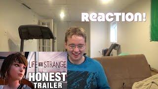LIFE IS STRANGE (Honest Game Trailers) REACTION!