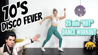 70s Disco HIIT Dance Workout- Reuploaded AGAIN.