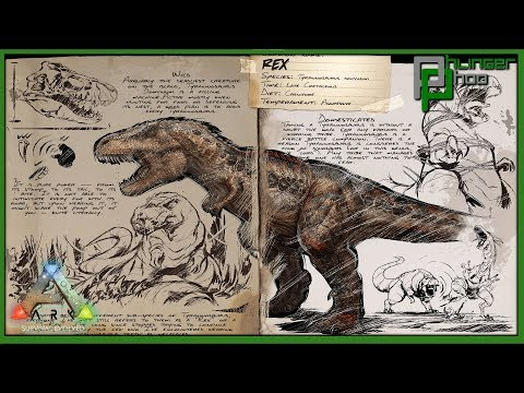 Ark Basics Tyrannosaurus Rex - AND HOW TO PREP FOR BOSS FIGHTS