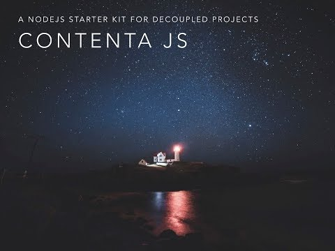 Contenta JS video