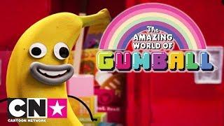 Gumball | Det bedste med Banana Joe | Dansk Cartoon Network