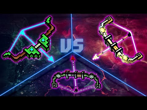 Pixel Gun 3D - Forest Sniper Bow VS Tactical Bow VS Archangel